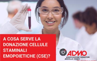 A cosa serve la donazione di cellule staminali emopoietiche (CSE)?